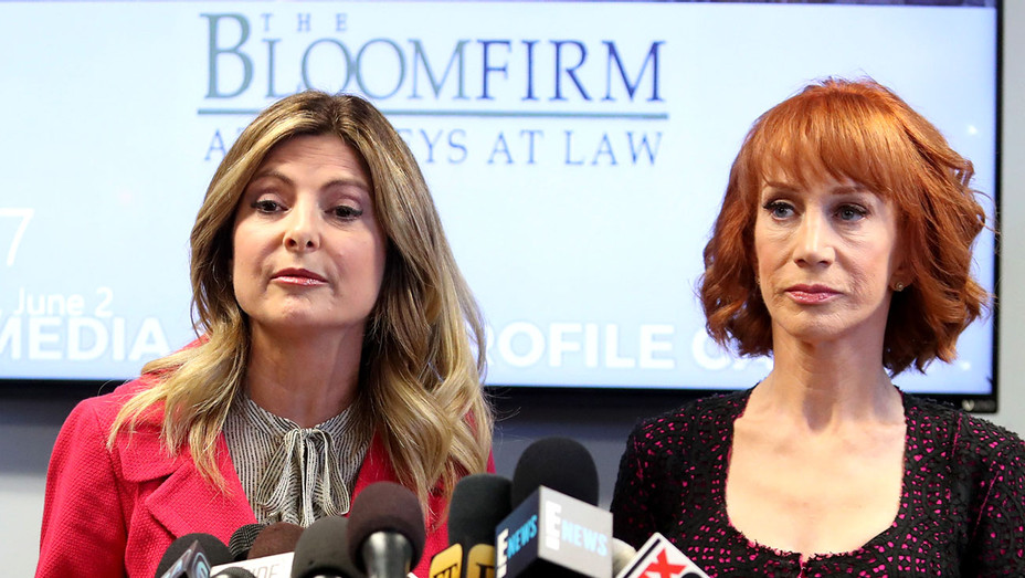 Lisa Bloom and Kathy Griffin -press conference - June 2, 2017-Getty-H 2017
