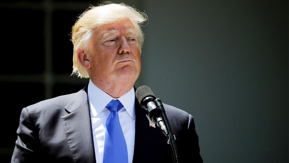 Donald Trump Rose Garden Comey Statement - Getty - H 2017