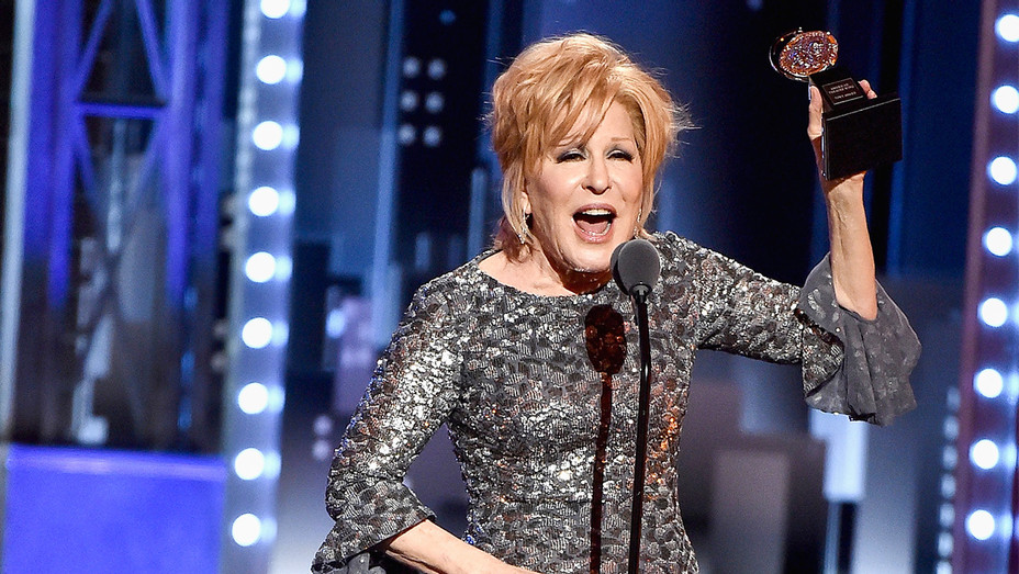 Bette Midler - Tonys Win - Getty - H 2017