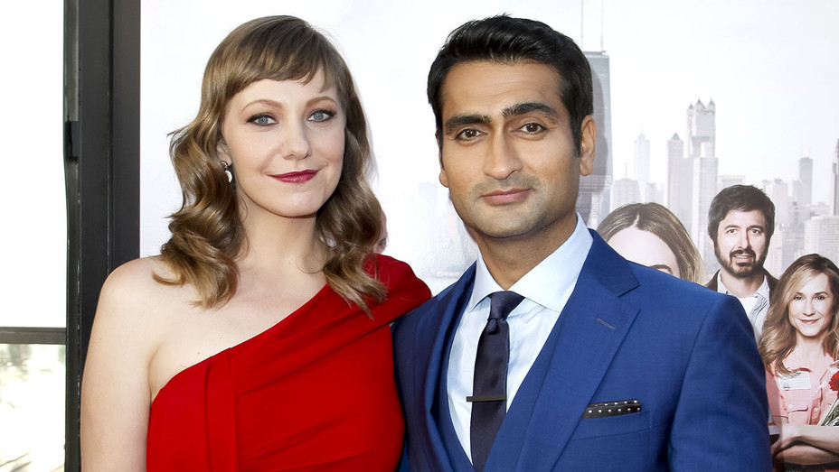 Emily V. Gordon and Kumail Nanjiani - Premiere of The Big Sick -Getty-H 2017
