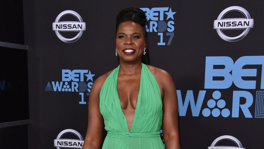 Leslie Jones at the 2017 BET Awards at Microsoft Square - Getty-H 2017