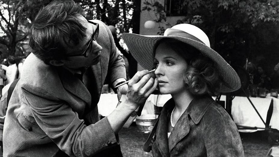 The Godfather  (1972) -Dick Smith - Diane Keaton on set -Photofest-H 2017