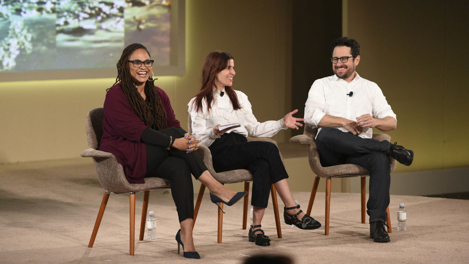 Ava DuVernay, Maha Dakhil, JJ Abrams at CAA Amplify - Publicity - H 2017