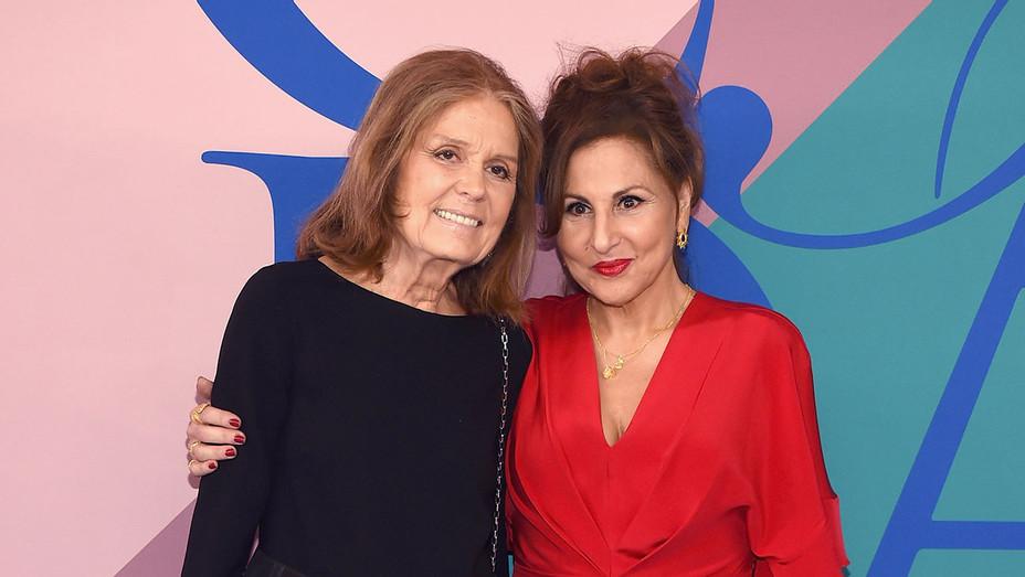 Kathy Najimy and Gloria Steinem - Getty - H 2017