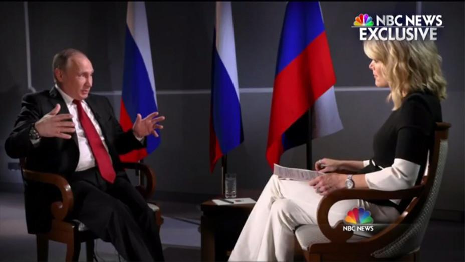 Vladimir Putin Megyn Kelly interview - H screengrab 2017