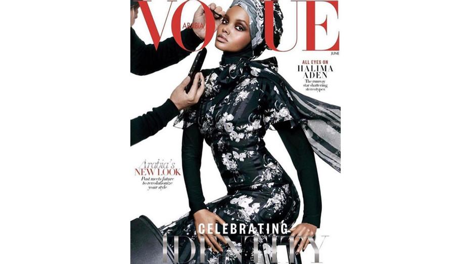 Instagram - Vogue Arabia Halima Aden Cover - Screenshot - H 2017