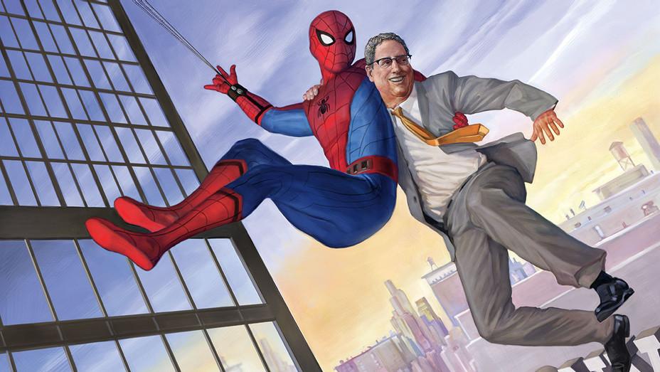 Tom Rothman Spiderman - Illustration - H 2017
