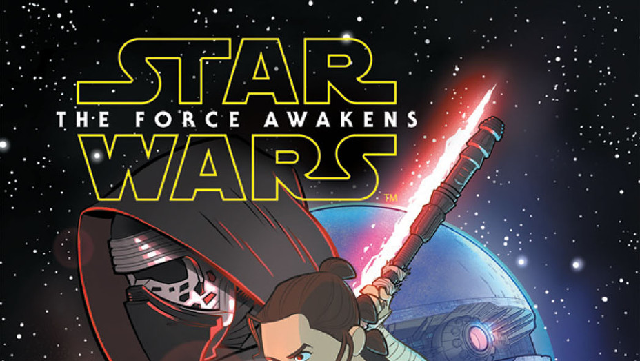 Star Wars VII: The Force Awakens Cover - Publicity - P 2017