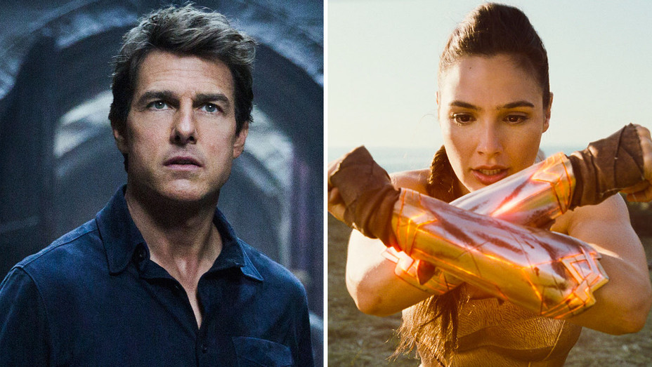 The Mummy and Wonderwoman Still - Split - Publicity - H 2017