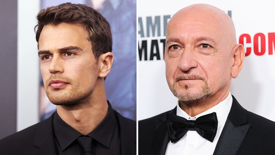 Theo James and Ben Kingsley - Split - Getty - H 2017