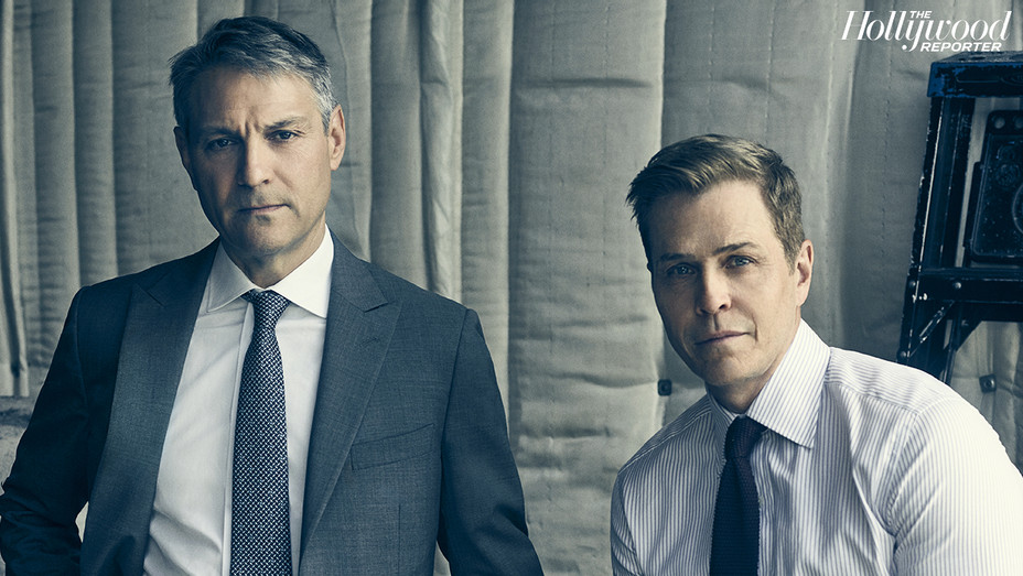 THR 100 List 2017 - Ari Emanuel and Patrick Whitesell - New - H 2017