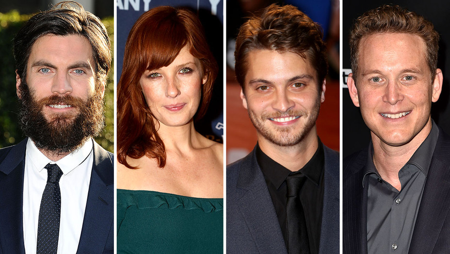 WES BENTLEY, KELLY REILLY, LUKE GRIMES AND COLE HAUSER Split-Getty-H 2017