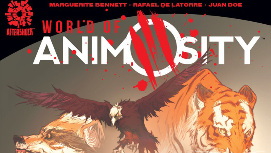 World of Animosity Cover - Publicity - P 2017