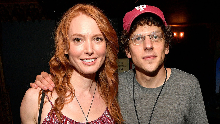 Alicia Witt and Jesse Eisenberg -The 24 Hour Musicals - H 2017