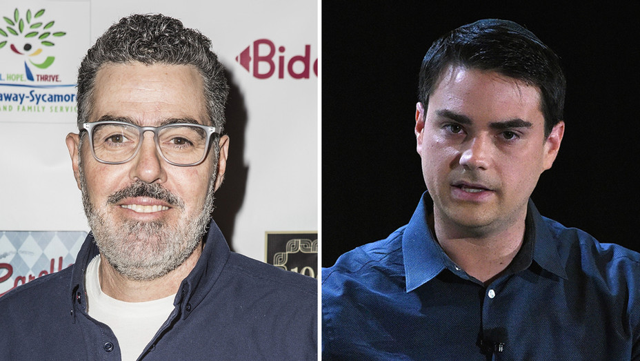 Adam Carolla and Ben Shapiro - Getty - H 2017