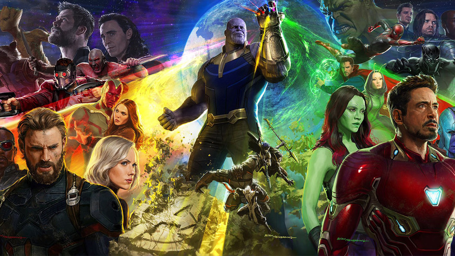 Infinity War Poster - Publicity - H 2017