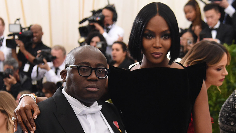 Edward Enninful and Naomi Campbell 2 - Getty - H 2017