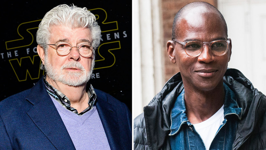 George Lucas and Mark Bradford - Split - Getty - H 2017