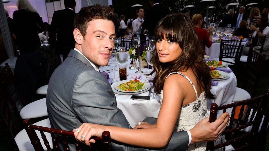 Lea Michele and Cory Monteith - 2013 12th Annual Chrysalis Butterfly Ball - Getty - H 2017