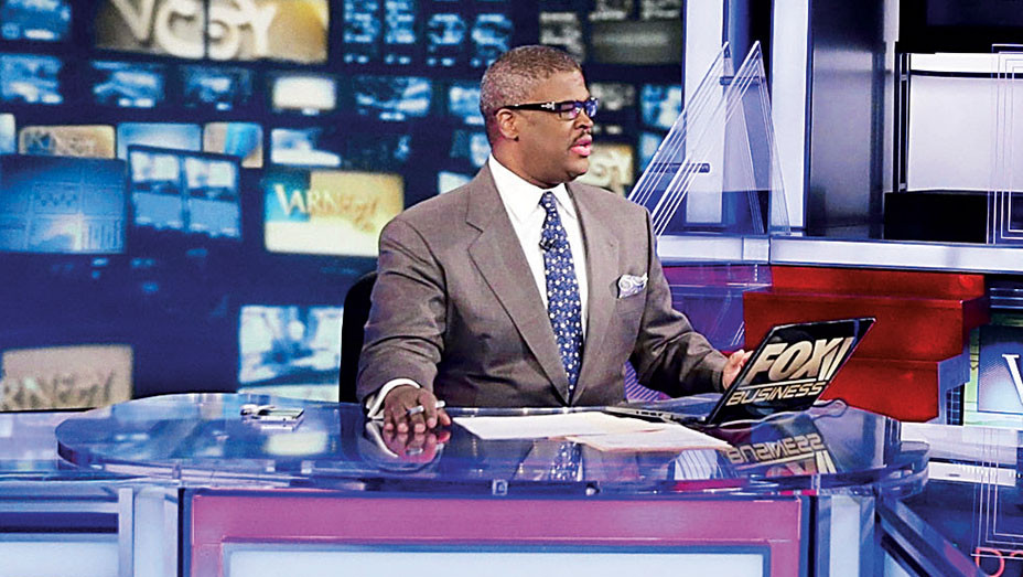 Charles Payne - 2015 Jason Dufner Fox News Visit - Getty - Embed 2017