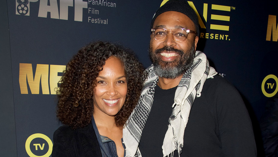 Mara Brock and Salim Akil attend the Pan African Film Festival 2017 -Getty-H 2017
