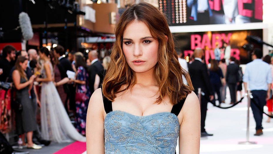 Lily James - Baby Driver European Premiere - Getty - H 2017