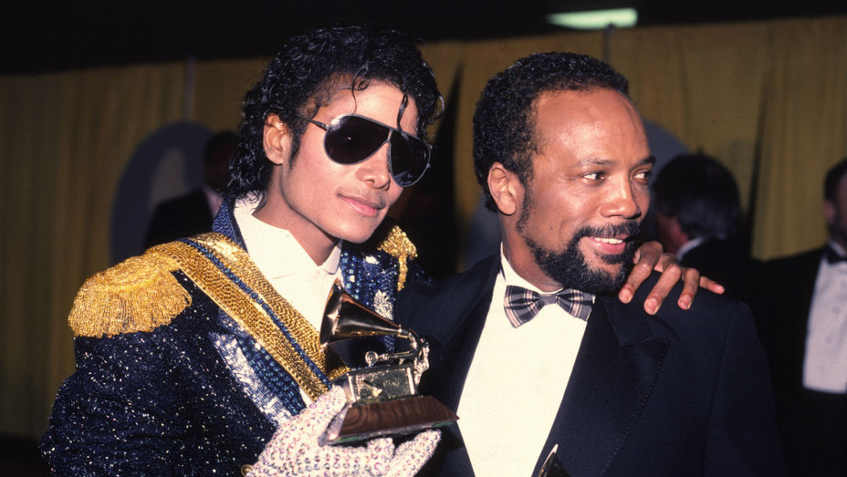 Michael Jackson Quincy Jones Grammys 1994 - Getty - H 2017