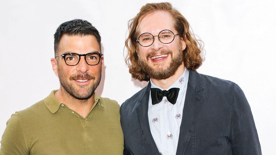 Zachary Quinto and Bryan Fuller - God's Own Country Screening 2017 Outfest - Getty - H 2017