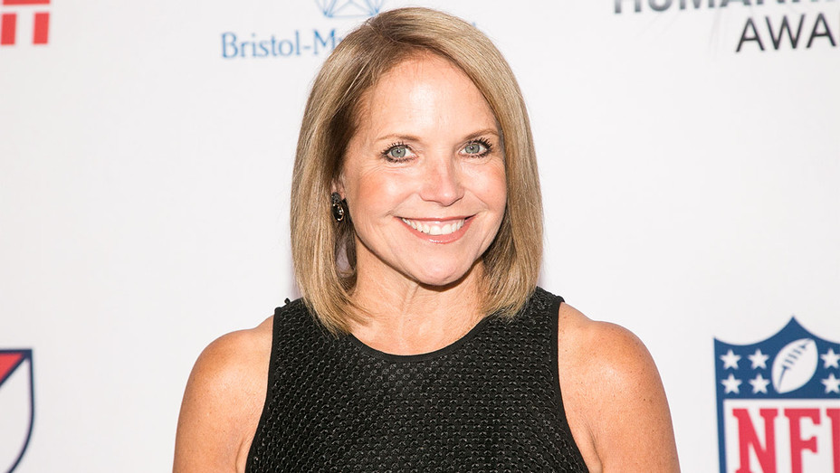 Katie Couric - 3rd Annual Sports Humanitarian of the Year - Getty - H 2017