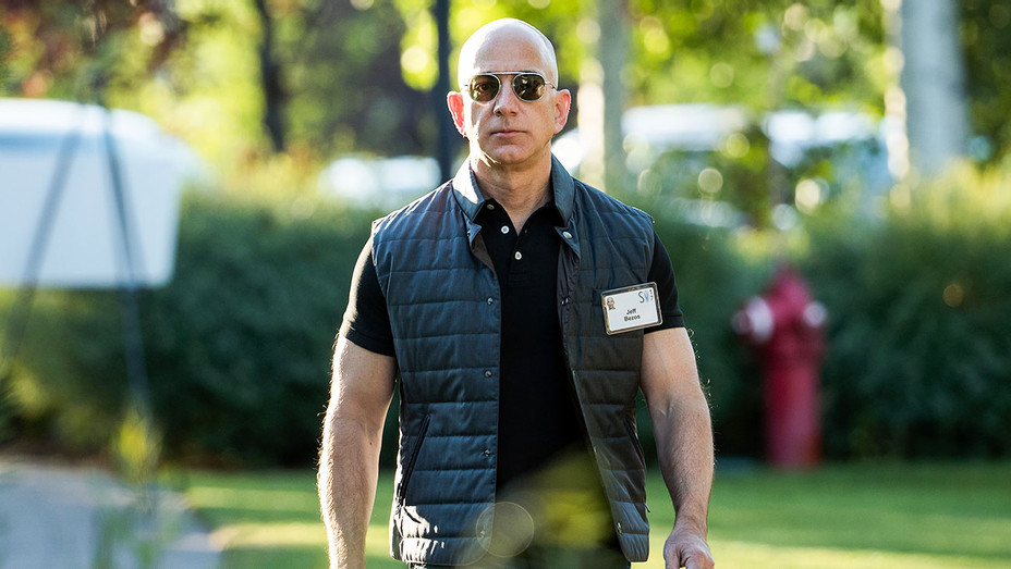 Jeff Bezos - Sunny Valley Tech Conference - Getty - H 2017