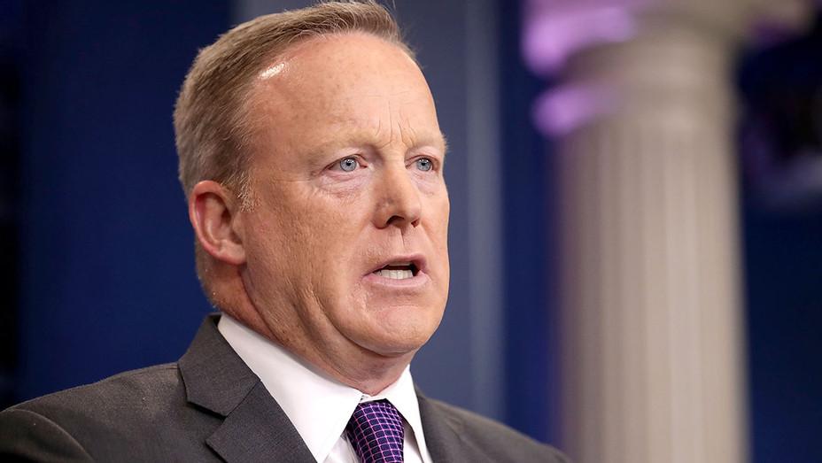 Sean Spicer -White House Press Secretary -July 17, 2017-Press Briefing Room -Getty-H 2017