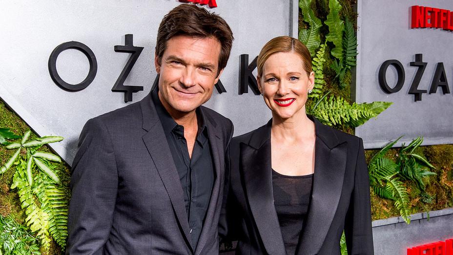 Jason Bateman and Laura Linney - Ozark New York Screening - Getty - H 2017