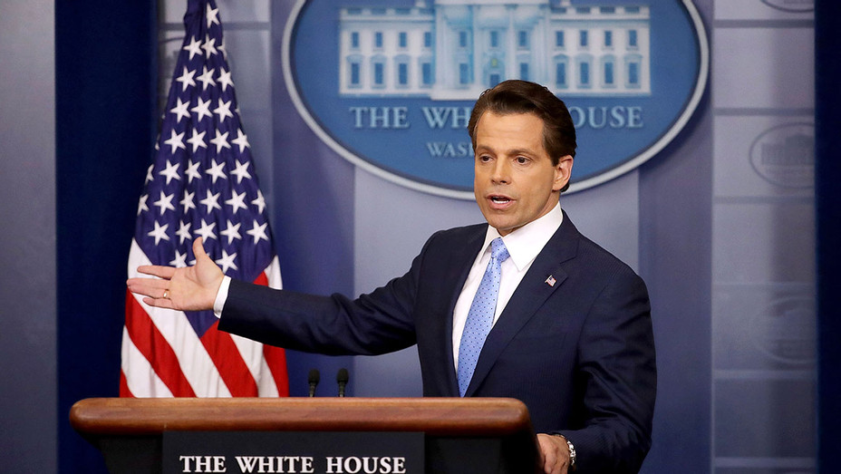 Anthony Scaramucci -daily White House press briefing  -July 21, 2017 - Getty-H 2017