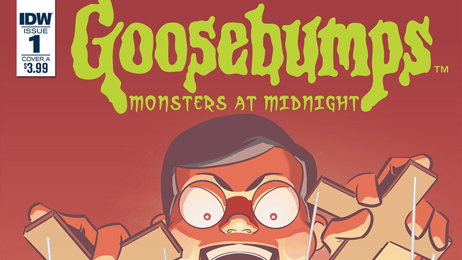 Goosebumps Monsters at Midnight Cover - Publicity - P 2017