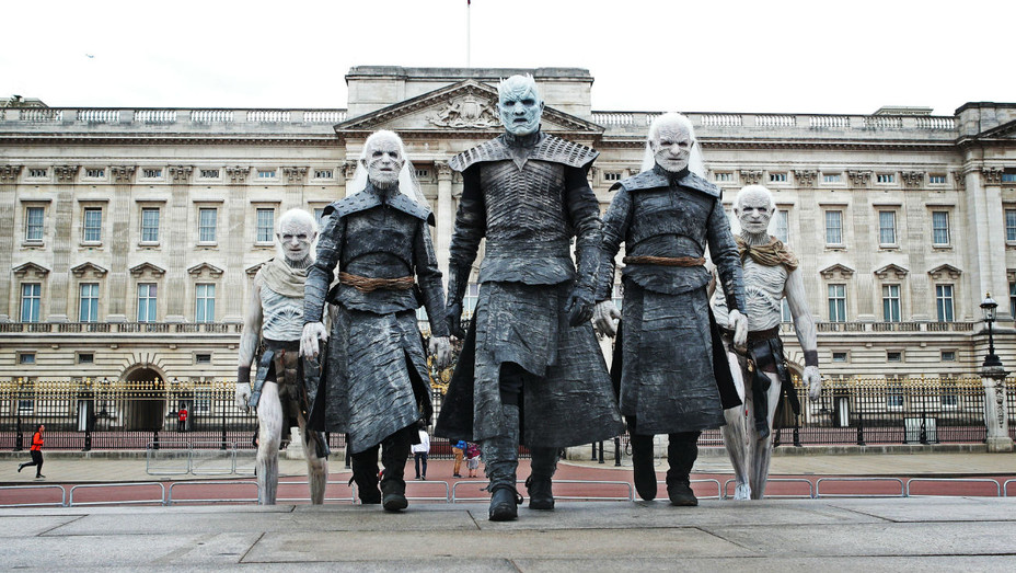 'Game of Thrones' promotional stunt in London - H 2017