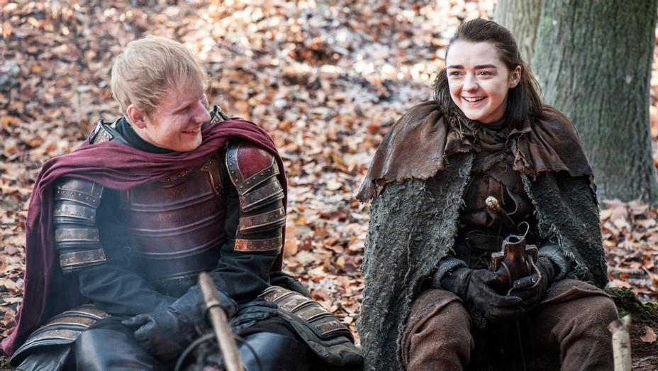 'Game of Thrones' S07E01 Ed and Arya Stark - Still - H 2017