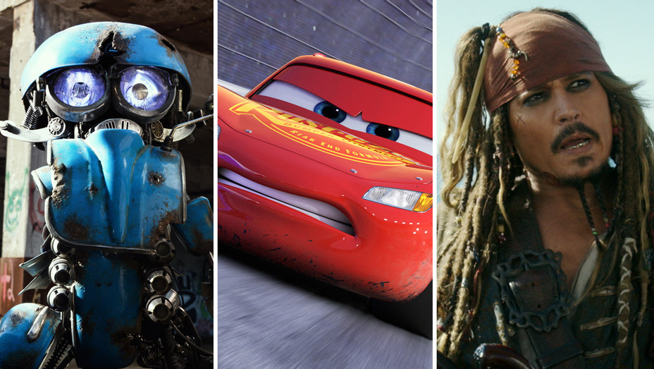Transformers: The Last Knight Cars 3 and Pirates of the Caribbean: Dead Men Tell No Tales - Split 2 - Publicity - H 2017