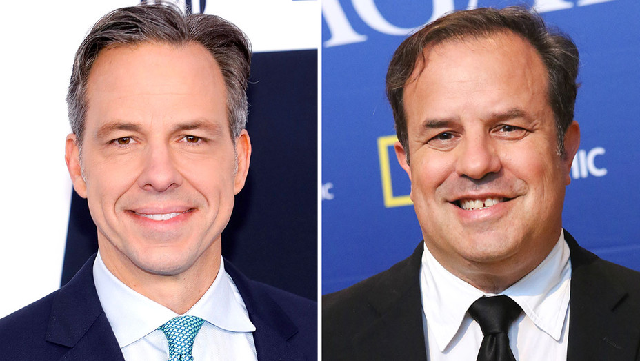 Jake Tapper and Rod Lurie- Getty-Split -H 2017