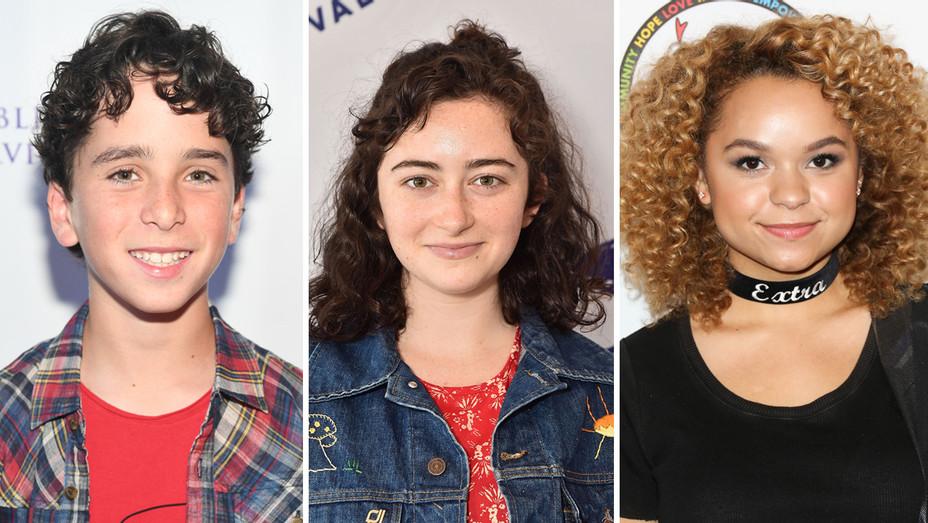 Jason Drucker Abby Quinn Rachel Crow - Getty - H Split 2017