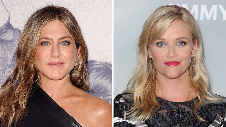 Jennifer Aniston and Reese Witherspoon_Split - Getty - H 2017