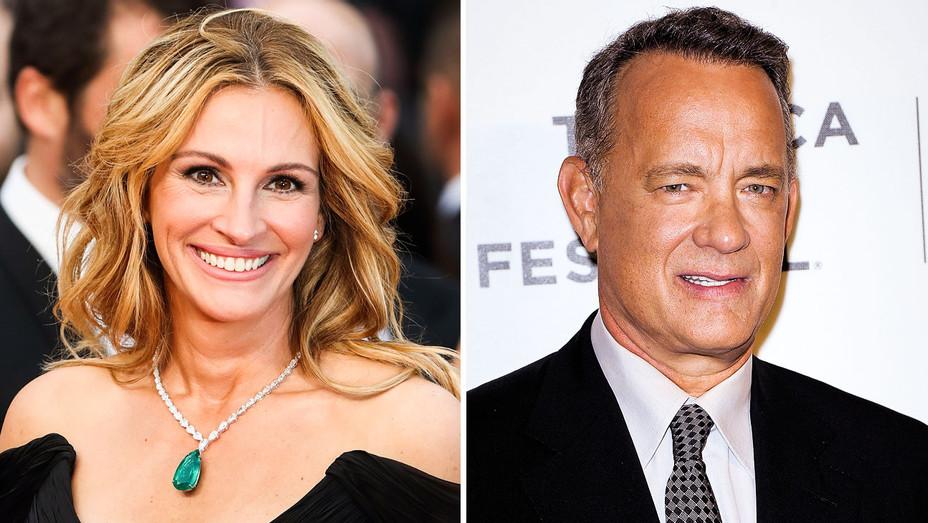 Julia Roberts and Tom Hanks - Split - Getty - H 2017