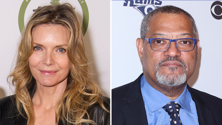 michelle pfieffer and lawrence fishbourne_Split - getty - H 2017
