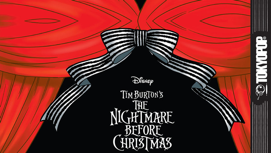 The Nightmare Before Christmas Special Collector's Manga Cover - Publicity - P 2017