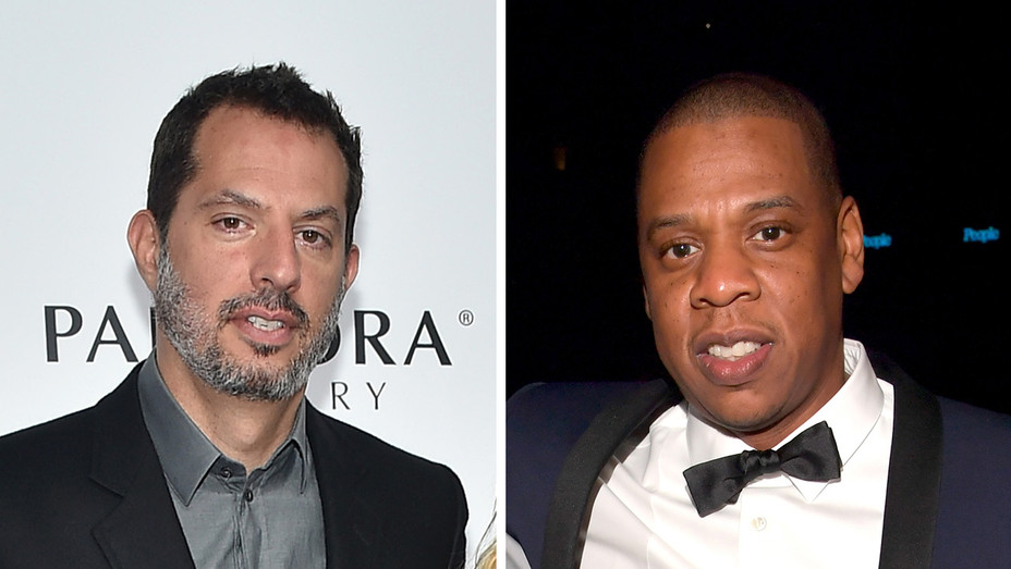 Guy Oseary Jay-Z - H Getty 2017