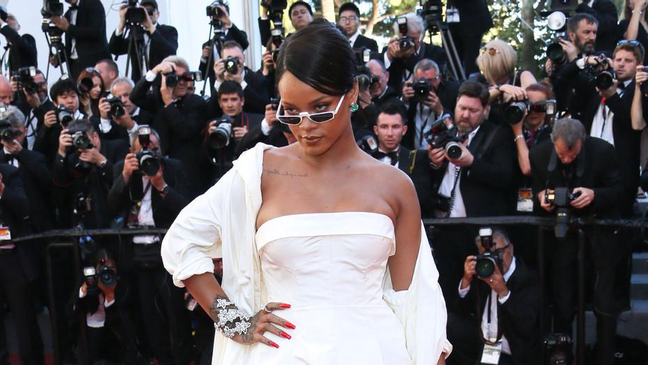 Rihanna Cannes 2017 - Getty - H 2017