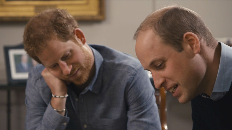 Prince Harry and Prince William in Princess Diana Doc - H 2017