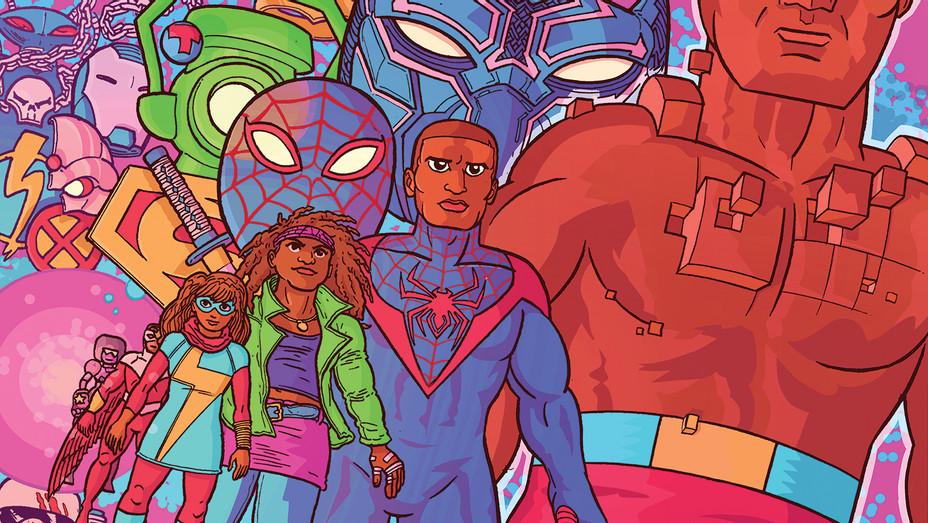COMIC-CON - 3 Ways to Build a Better Black Superhero - Illustration by Ulises Farinas-SPLASH-H 2017
