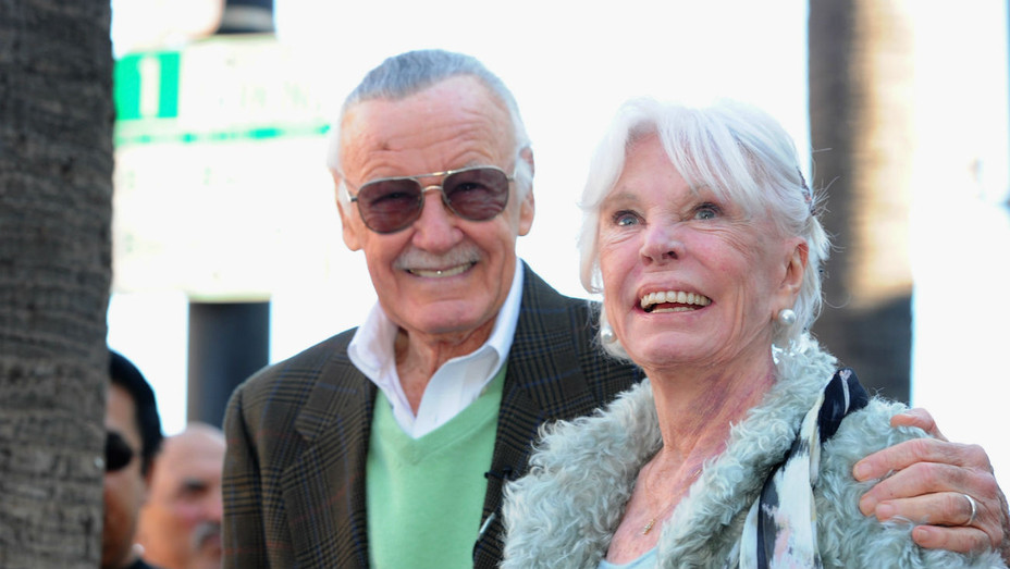 Stan and Joan Lee - Getty - H 2017