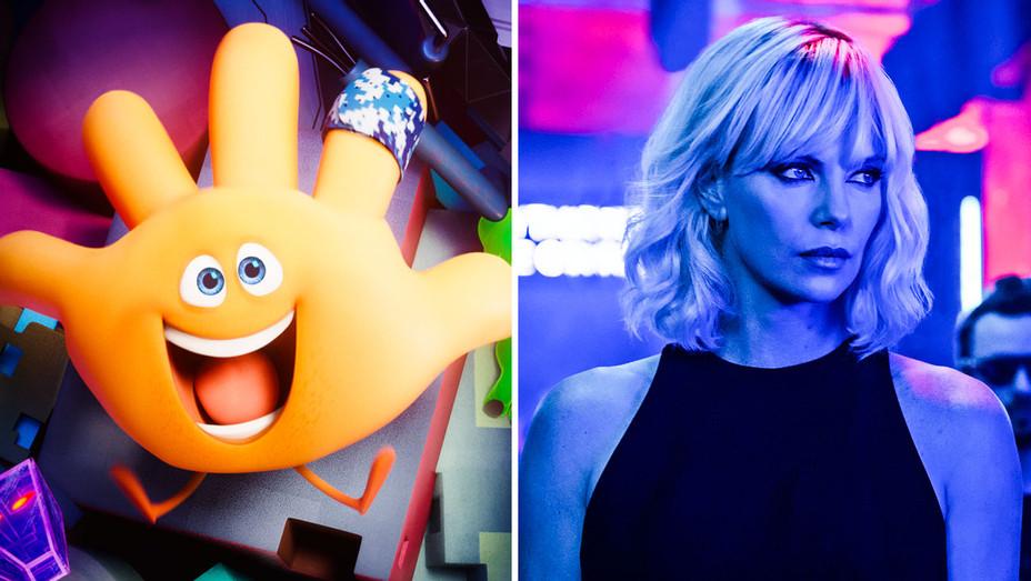 The EMOJI Movie and Atomic Blonde - Split - Publicity - H 2017