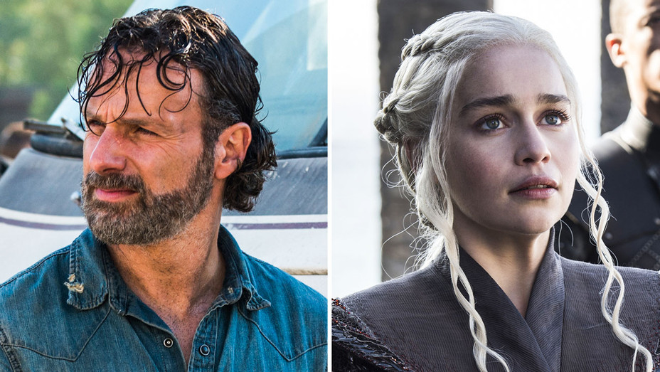 The Walking Dead and Game of Thrones Still - Split - Publicity - H 2017